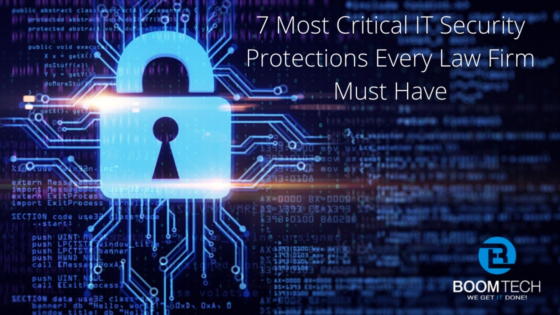 Law Firm Cybersecurity Boca Raton