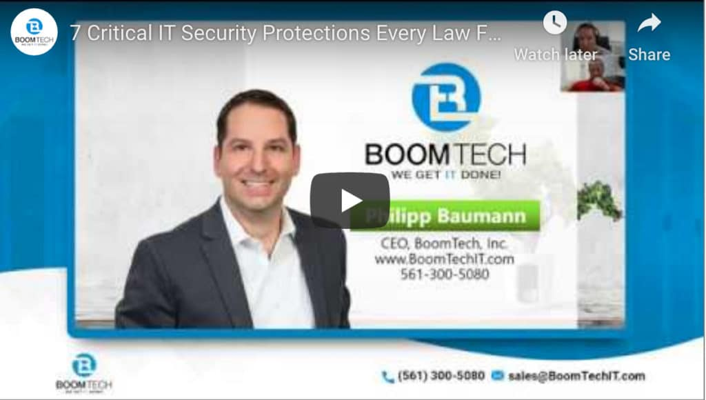 Law Firm Cybersecurity Services In Boca Raton